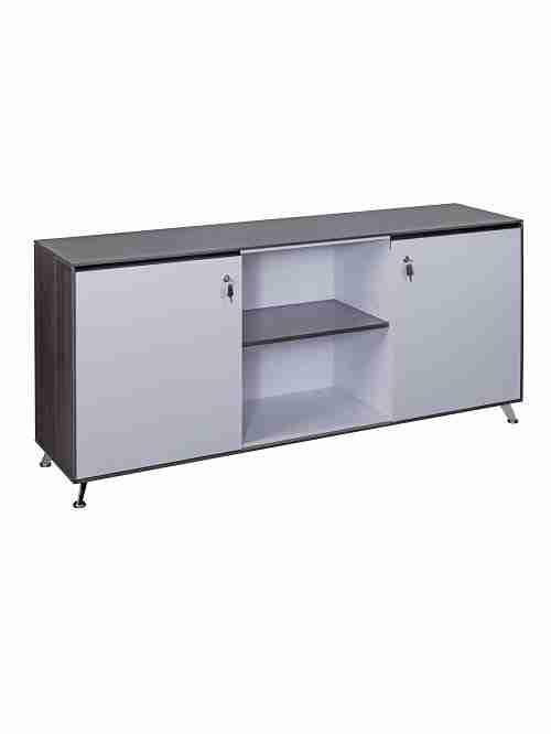 Nero Exective Credenza Storage Cupboard