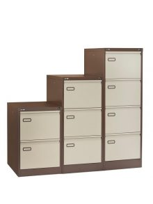 GO Mainline Filing Cabinet - Coffee and Cream