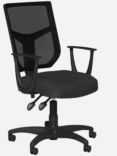 OA Mesh Operator Office Chair - Black_Sonata Arms