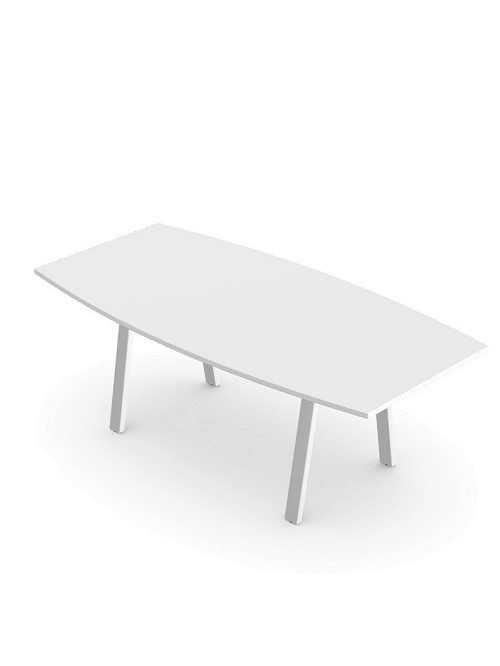 Switch 2000mm Boardroom Table - White